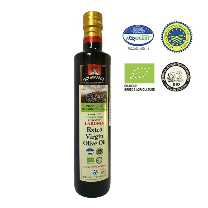 【高曼蒂】冷壓初榨有機橄欖油(500ml)