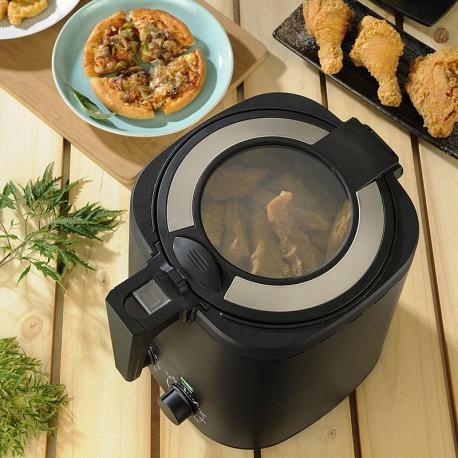 SAMPO聲寶:3公升健康油切氣炸鍋