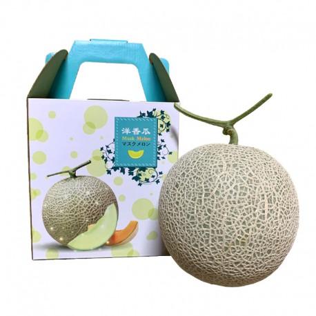 豐圓哈密瓜:阿露絲網紋洋香瓜(1顆禮盒裝)