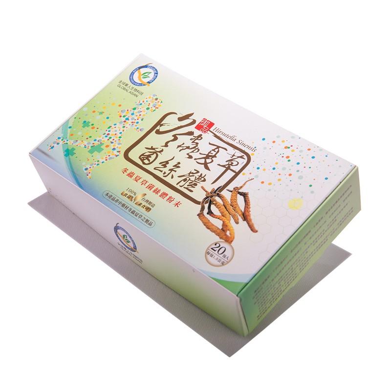 全球華人生物科技:冬蟲夏草菌絲體粉末-隨身包 (20入)