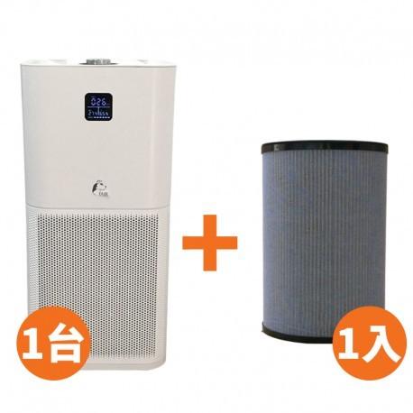 迦拓科技:JAIR-P550空氣清淨機 + 專用濾網1組