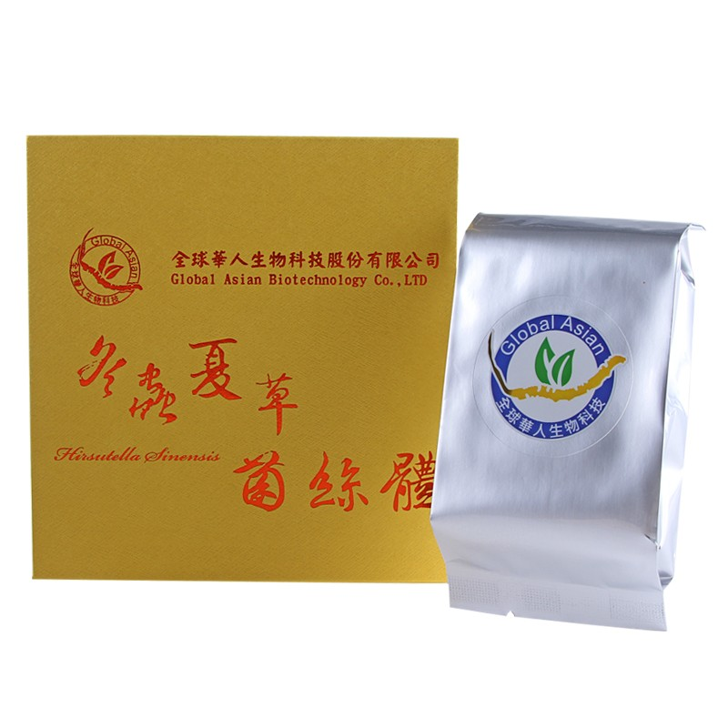 【全球華人】冬蟲夏草菌絲體膠囊(60粒)
