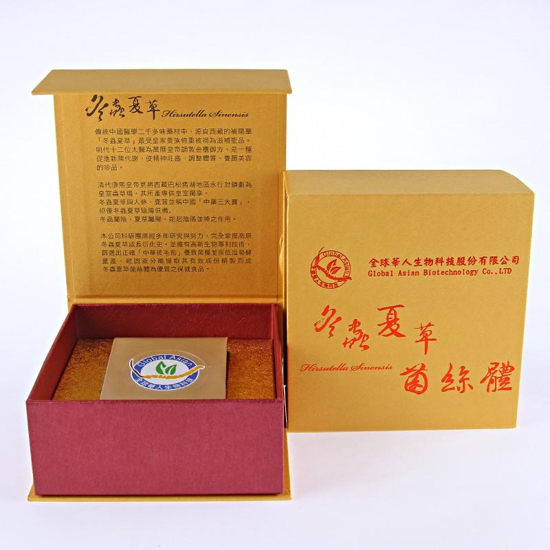 【全球華人】冬蟲夏草菌絲體膠囊(精裝盒60粒)