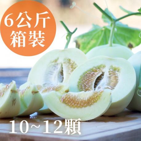 瓜甜盛夏:雲林斗六美濃瓜(10~12箱裝)