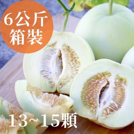 瓜甜盛夏:雲林斗六美濃瓜(13~15顆箱裝)