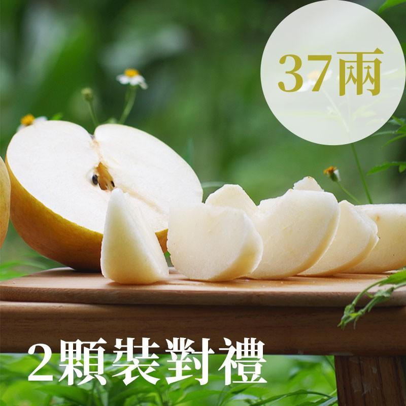 【豐碩之梨】寶島甘露梨(37兩)-2顆裝對禮