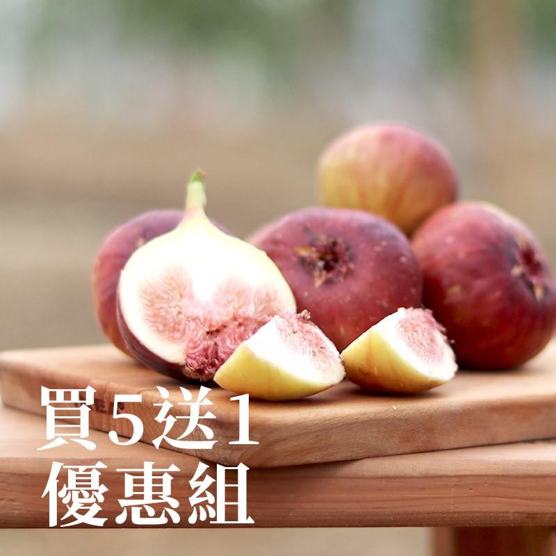 【德玉鮮馥】有機轉無花果(1台斤)-買五送一優惠組