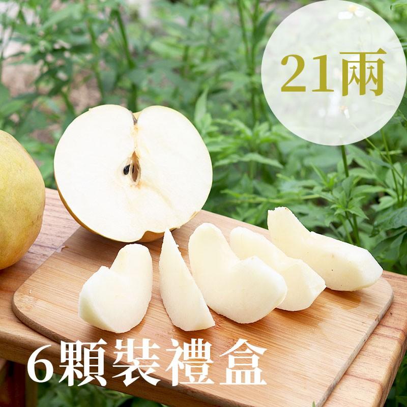 【豐碩之梨】寶島甘露梨(21兩)-6顆裝禮盒