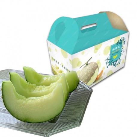 豐圓哈密瓜:阿露絲網紋洋香瓜(2顆禮盒裝)