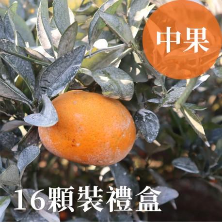 吉利茂谷柑:雲林斗六茂谷柑(中果16顆禮盒裝)