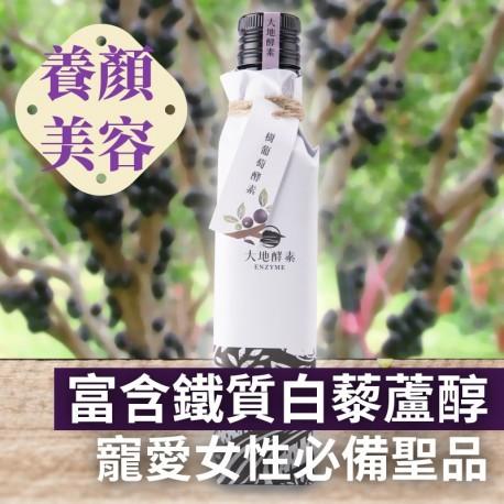 將樹葡萄經2年發酵熟成,耕心自然農場限量釀造
