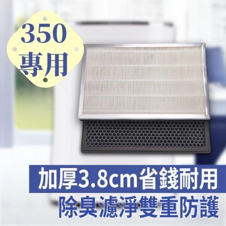 JAIR-350專用濾網:加厚3.8cm省錢更耐用
