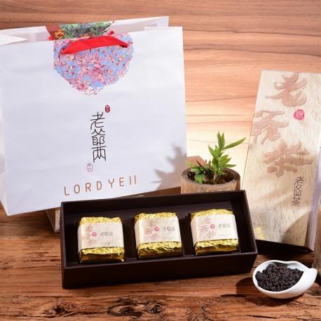 老爺兩茗茶:有機正統高山烏龍茶-禮盒組