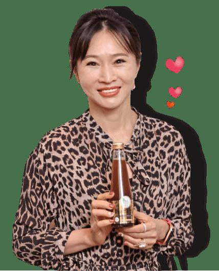 咕嚕茶創辦人王宇芬,飲用康普茶30多年
